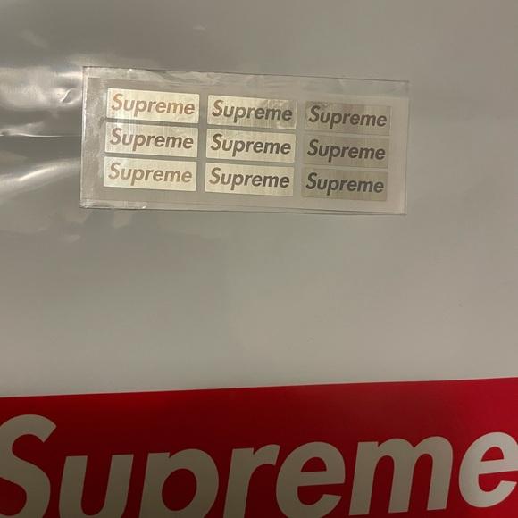 Supreme chrome small logos